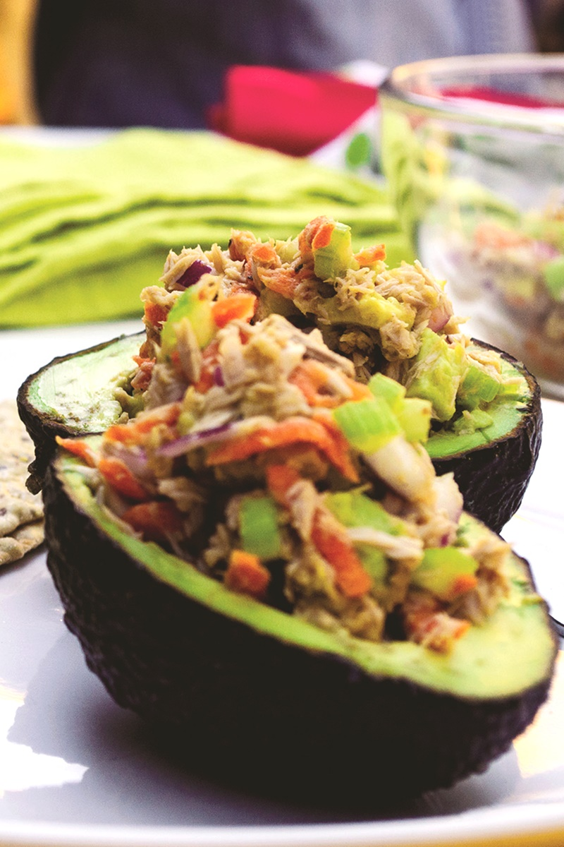 Tuna Salad Avocado Boats Recipe (Dairy-Free, Gluten-Free)