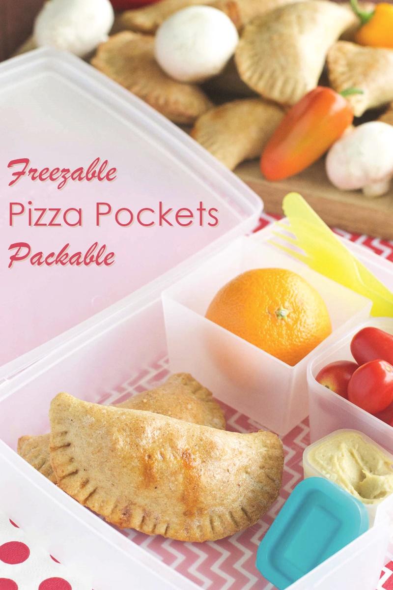 Freezable Pizza Pockets