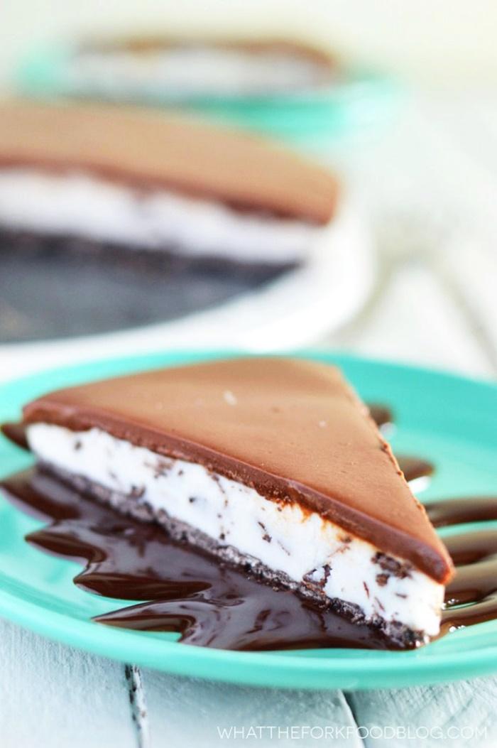 Coconut Milk Dairy Free Frozen Dessert Recipes - Vegan Gluten Free Frozen Mint Chip Pie (pictured)