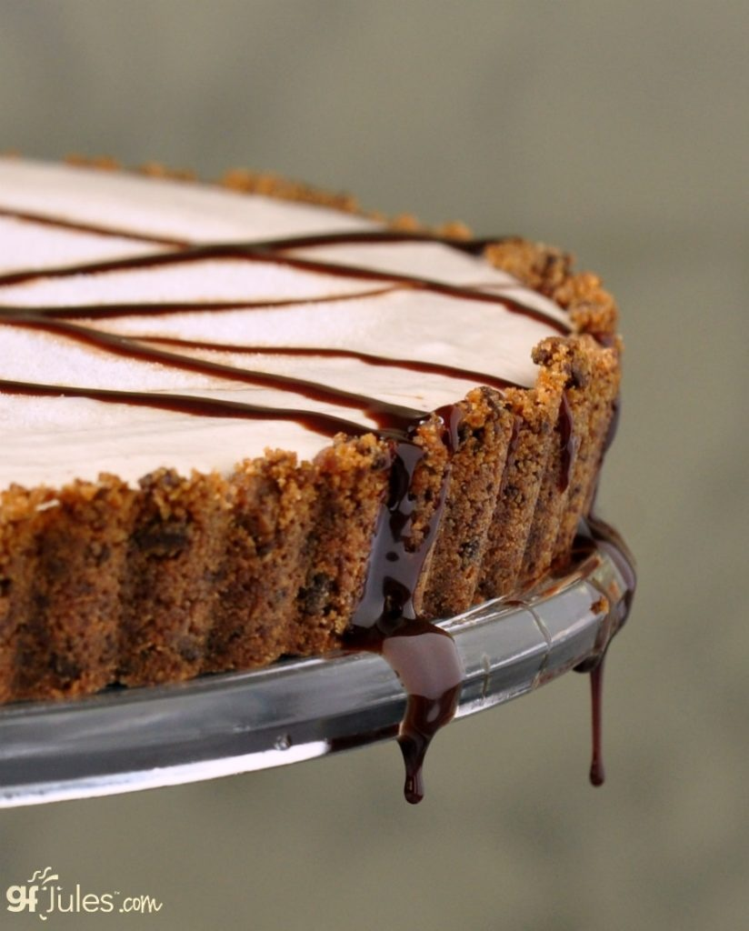 Coconut Milk Dairy Free Frozen Dessert Recipes - Vegan Gluten Free Peanut Butter Cookie Pie (pictured)