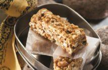 Peanut Butter Popcorn Granola Bars Recipe