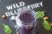 "Wild Blueberry Bliss Smoothie (dubbed my ""Back to School"" recipe!) + More Dairy-Free, Banana-Free Smoothie Recipes"