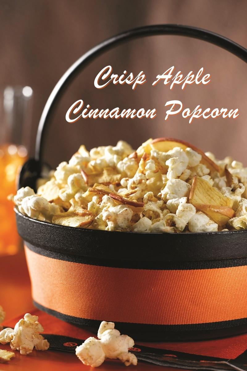 Crisp Apple Cinnamon Popcorn