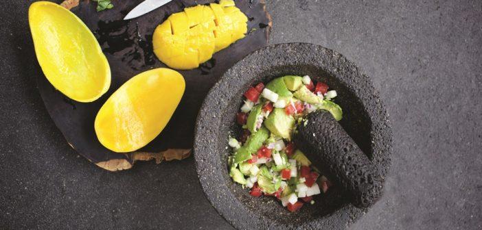Mexican Mango Guacamole