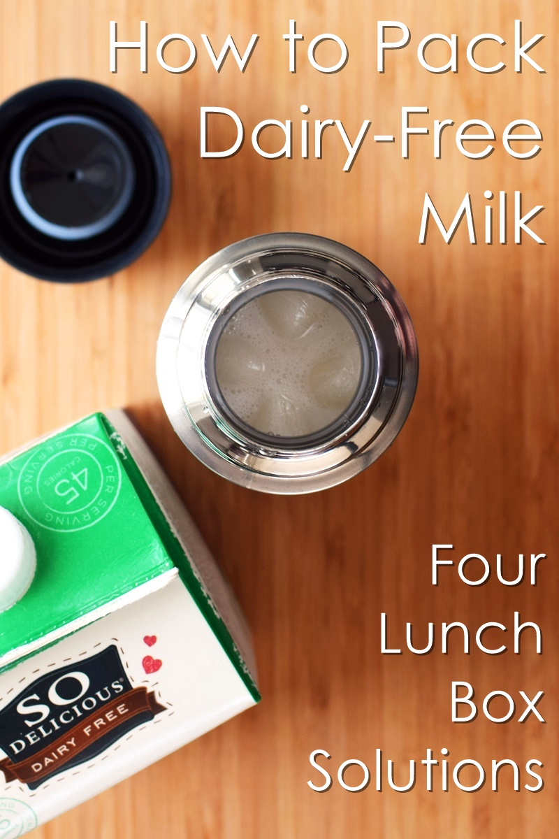 4 Simple Solutions to Pack Dairy-Free Milk Beverage for Lunch