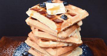 Classic Vegan Waffles Recipe (made with Aquafaba!)