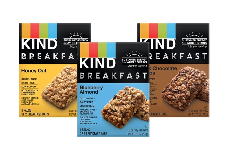 Kind Breakfast Bars (Review) - dairy-free, gluten-free, whole grain