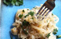Spaghetti Squash Alfredo Recipe (Dairy-free & Gluten-Free!)