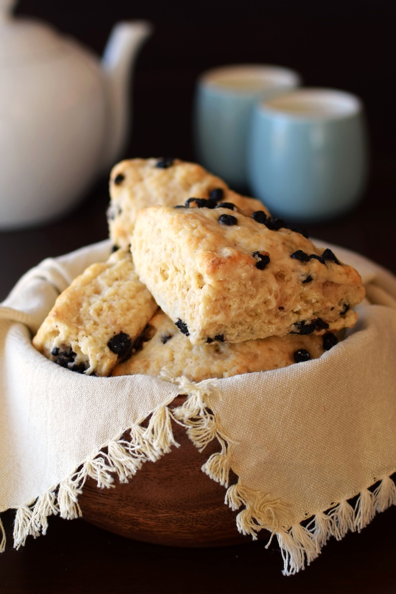 15 Dairy-Free Mother's Day Recipes That Will Make Breakfast Special (Vegan Wild Blueberry Scones Recipe - Panera Copycat!)