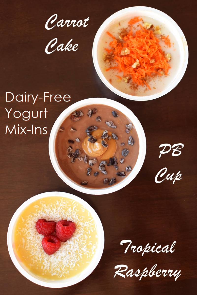 60 Dairy-Free Yogurt Mix-Ins + Cool Yogurt Packing Ideas