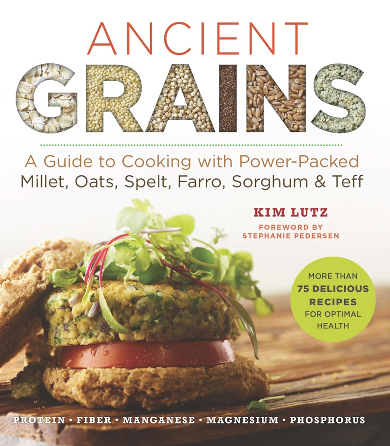 Ancient Grains Cookbook Review + Sample Recipe (Baked Vegan Pumpkin Donuts with Gluten-Free Option)