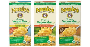Annie's Vegan Mac & Cheese Reviews and Information - dairy-free, nut-free, soy-free, and one gluten-free option