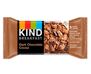 Kind Breakfast Bars Reviews and Info - now in 10 dairy-free, gluten-free varieties, including some with probiotics or protein