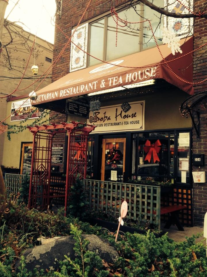 Boba House in Greensboro, NC is a popular spot for vegan Asian cuisine