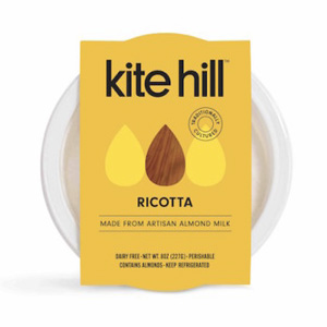 Kite Hill Ricotta (review) - a delicious dairy-free and vegan almond based ricotta cheese alternative