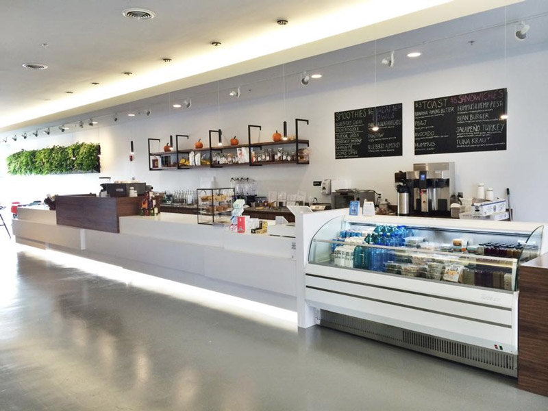 Alchemy Juice Bar and Cafe - a health food spot with tons of dairy-free, vegan, and gluten free options and nutrition counselling.