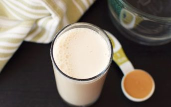 Instant Homemade Nut Milk - just 2 minutes to creamy, dairy-free, vegan & paleo almond or cashew milk beverage