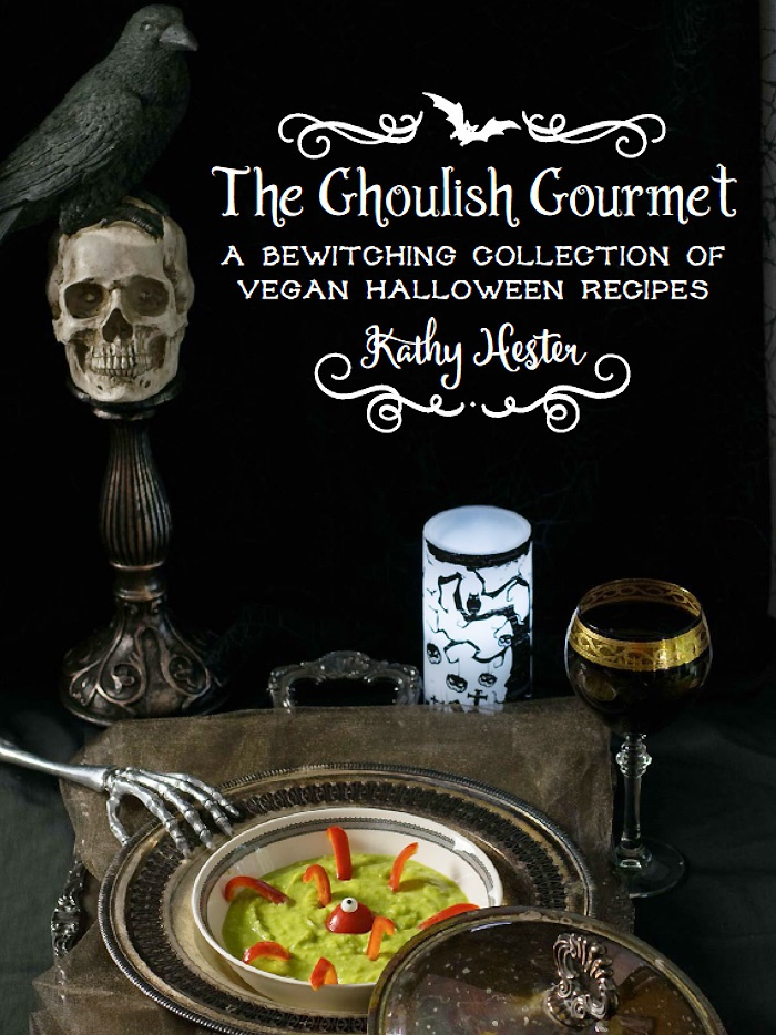 The Ghoulish Gourmet: A Bewitching Collection of Vegan Halloween Recipes + sample recipe for Vegan Chocolate Graham Crackers
