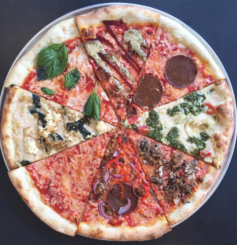 Screamer's Pizzeria - an all vegan New York style pizza joint in Brooklyn, NY.