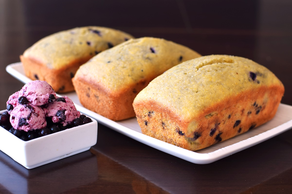 ... Blueberry Buttery Spread - dairy-free, nut-free + gluten-free optional