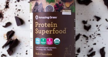 Amazing Grass All in One Protein Superfood Review (dairy-free, vegan)