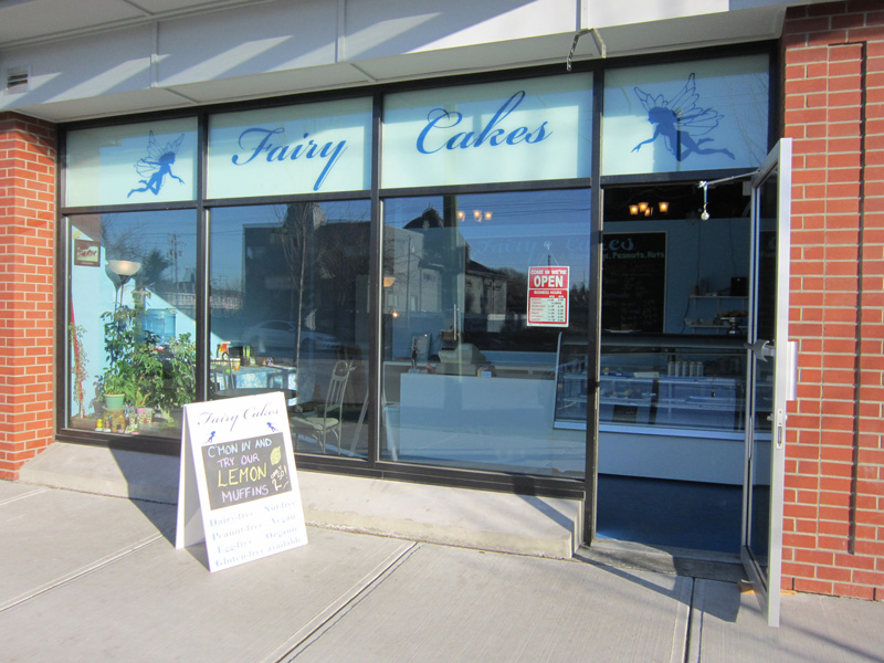 Fairy Cakes - an all dairy-free, egg-free, nut-free, and vegan bakery in Vancouver BC