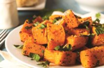 Chili Lime Roasted Butternut Squash