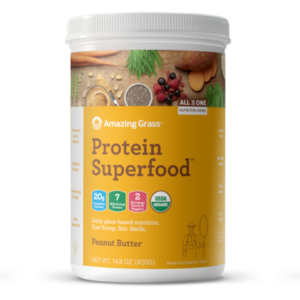 Amazing Grass Protein Superfood Powders Reviews and Info - made with plant-based protein and real food ingredients. Dairy-free, gluten-free, soy-free.