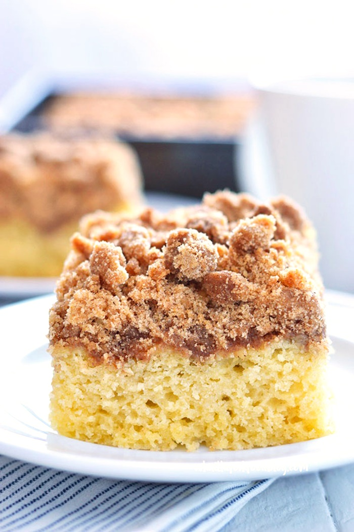Dairy-Free Bake Off Recipe - Gluten Free Cinnamon Coffee Cake