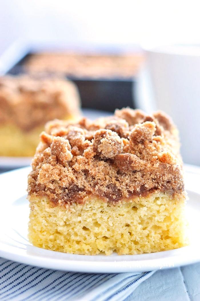 Dairy-Free Bake Off Recipe - Gluten Free Cinnamon Coffee Cake