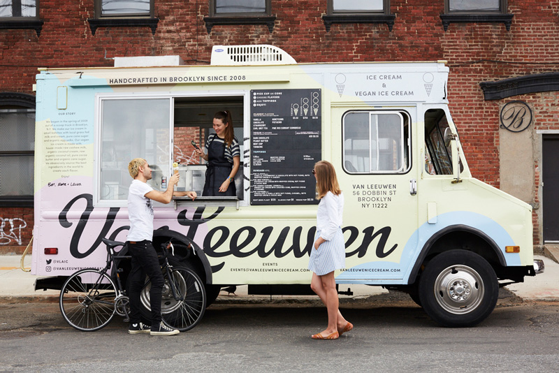 Van Leeuwen Artisan Ice Cream offers delicious dreamy dairy-free vegan ice cream flavors in New York and Los Angeles