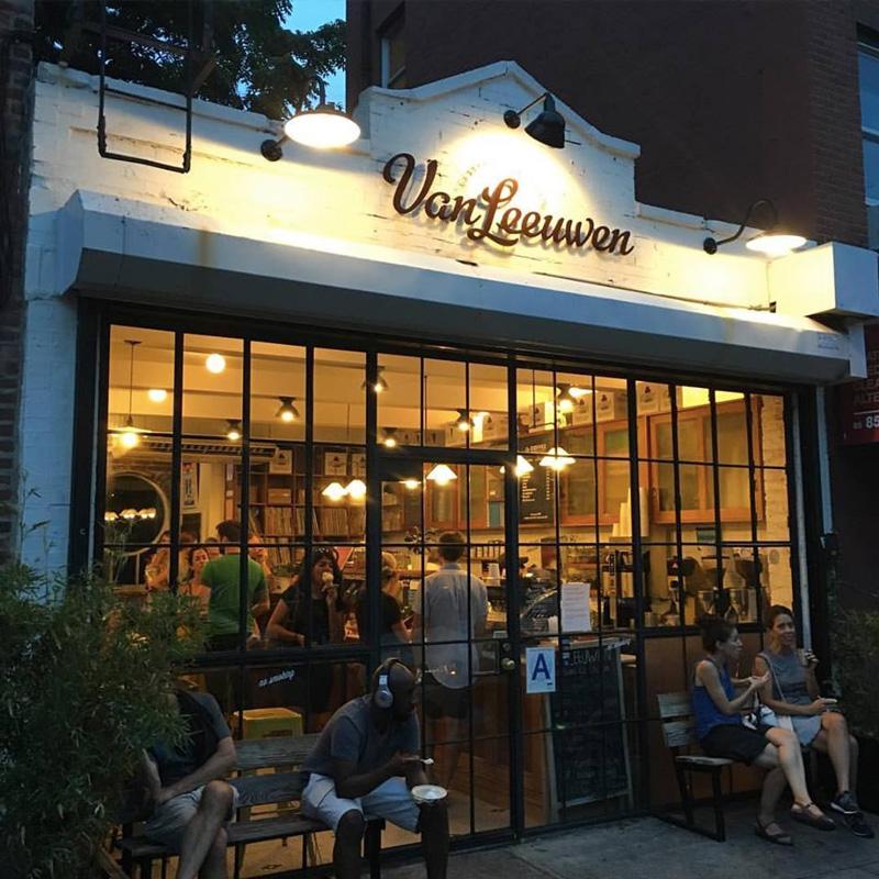 Van Leeuwen Artisan Ice Cream offers delicious dreamy dairy-free vegan ice cream flavors in New York and Los Angeles