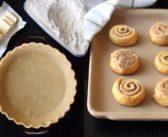 Buttery Pie Crust + Flaky Cinnamon Roll Pinwheels (for Kids!)