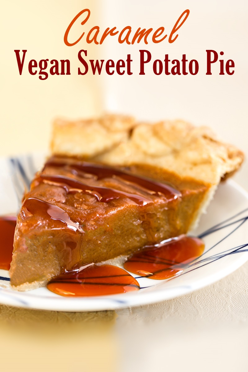 Caramel Sweet Potato Cake