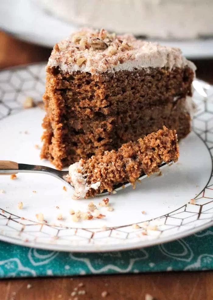 Chai-Spiced Vegan Pumpkin Cake Recipe (Reader's Choice Winner in the Dairy-Free Bake Off!)