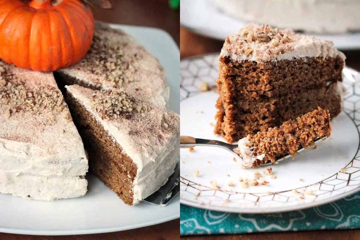 Chai-Spiced Vegan Pumpkin Cake Recipe (Reader's Choice Winner in the Dairy-Free Bake Off!)
