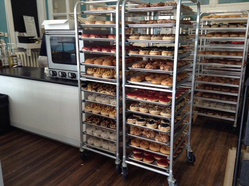 Beechwood Doughnuts - an all vegan doughnut shop with classics and creative creations in St Catharines, Ontario!