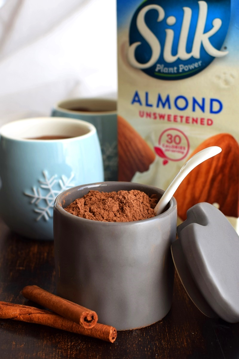 Warm Carob Milk Recipe - dairy-free, vegan and lightly spiced!