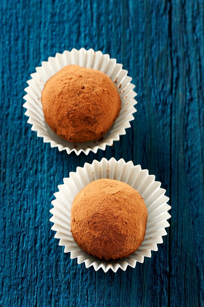 15 Delicious Ways to Use Dairy-Free Creamer (2-Ingredient Truffles shown)