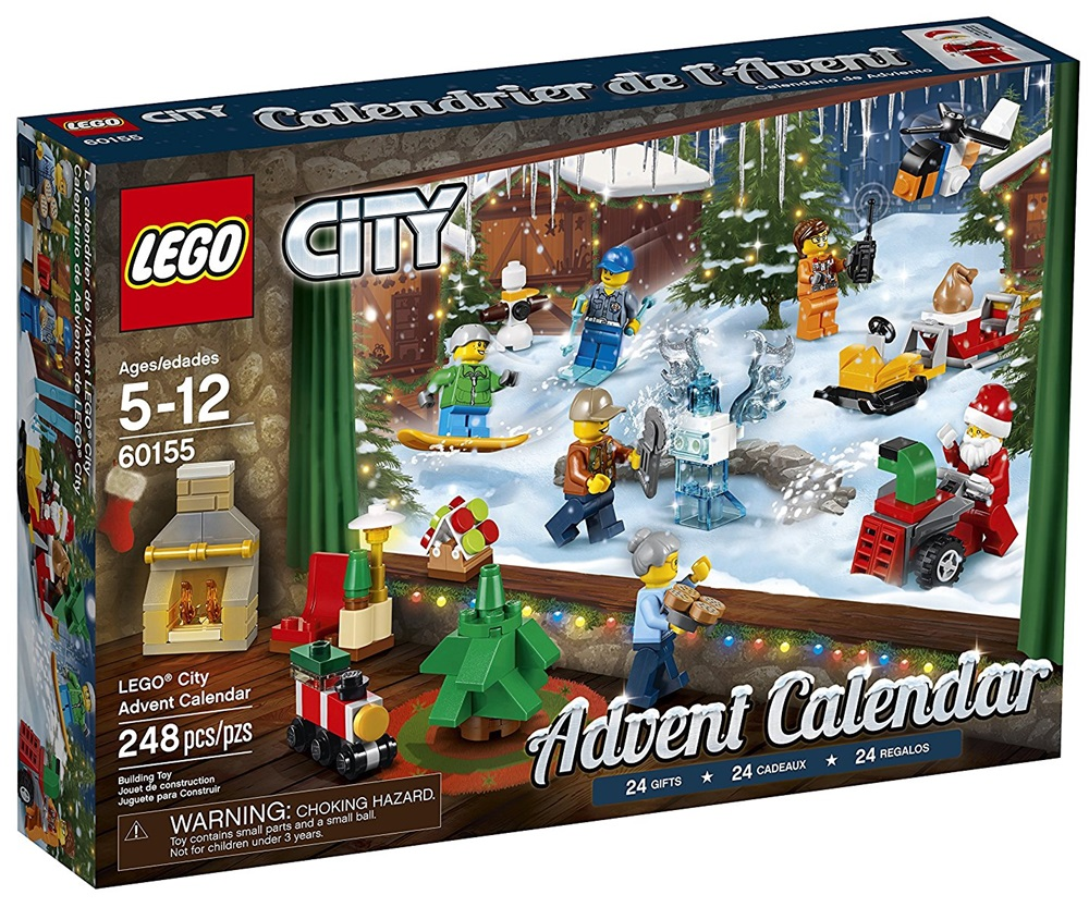 Lego Advent Calendars - a great food-free option for dairy-free, gluten-free and more