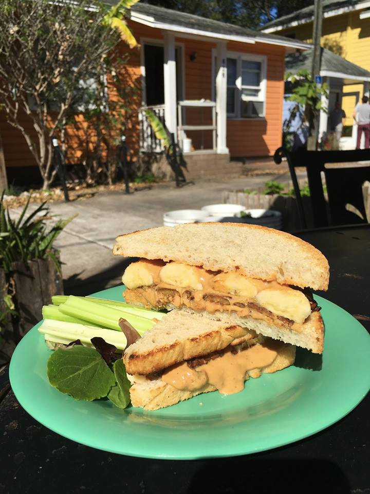 The Dandelion Communitea Cafe in Orlando serves delicious dairy-free vegan food, tea, and hosts incredible events for the community.