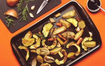Roasted Root Vegetables with Balsamic Glaze (Vegan, dairy-free, gluten-free, allergy-friendly, paleo recipe!)