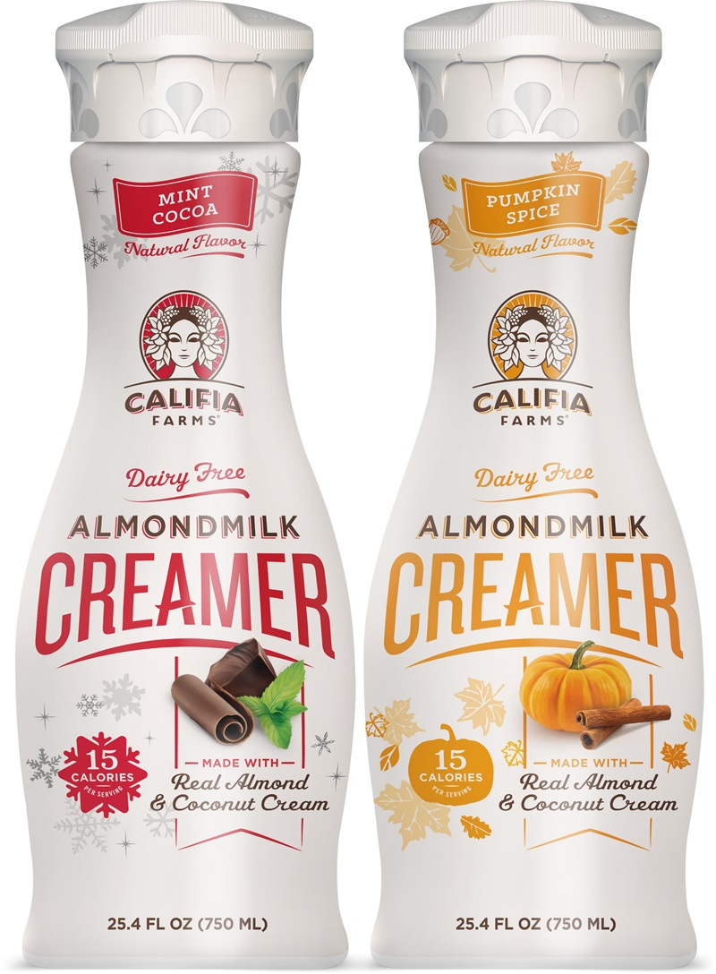 Dairy-Free Holiday Beverages Helper - Califia Holiday Creamers