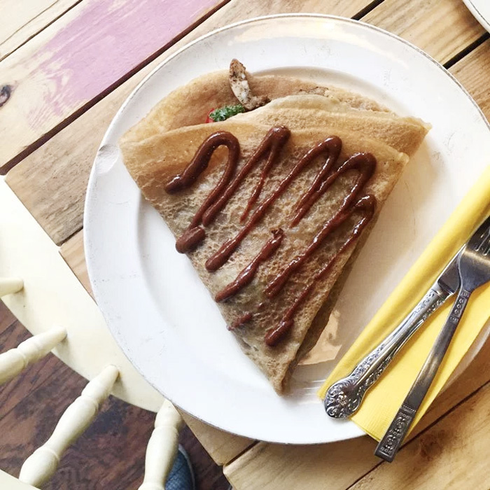Little Choc Apocethary - NYC's only all vegan creperie!