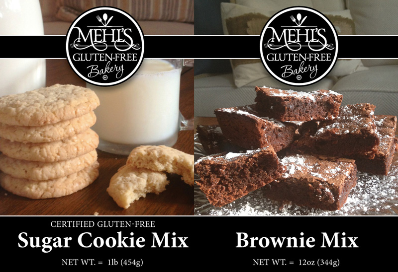 Mehl's Bakery - a fully gluten-free bakery run by a celiac family. Many dairy-free and vegan options.