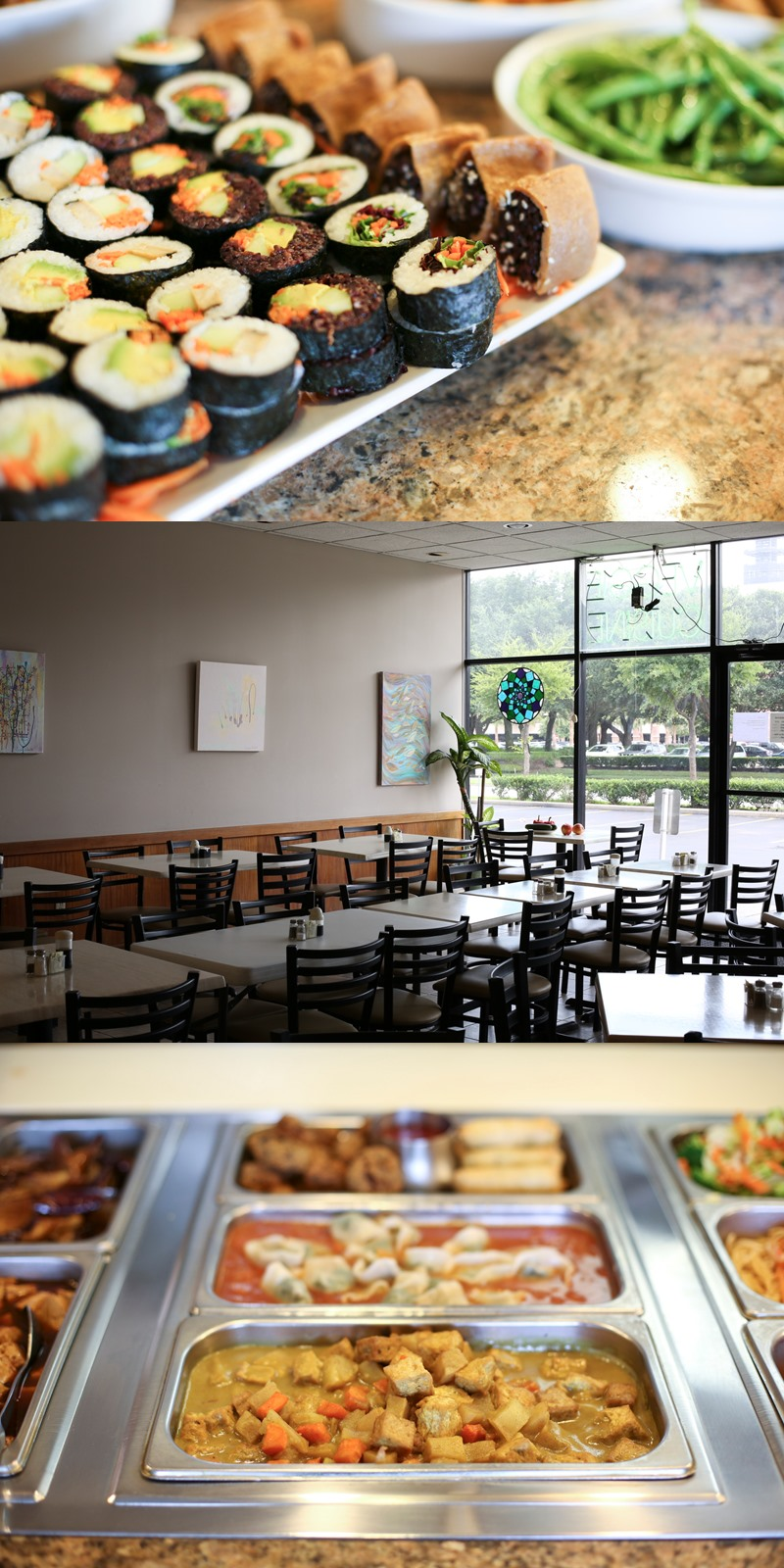 Pepper Tree in Houston, TX is an all-vegan Asian food restaurant