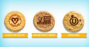 Fat Badger Bakery Cookies (formerly Nomoo Cookies) are now completely vegan and non-GMO verified!