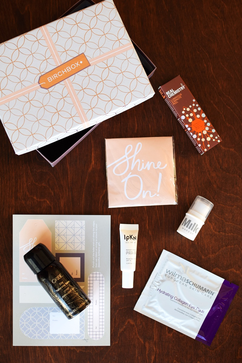 The Beauty Of Birchbox For Dairy Free Living Gifts Personal Treats