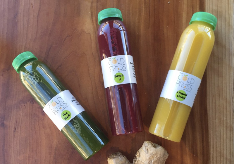 Pure Cold Press - fresh seasonal juices and vegetarian eats in Brookline, MA.