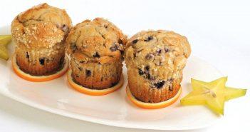 Lemon Blueberry Corn Muffins Recipe (Dairy-Free)